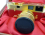 Leica 24-carat gold-plated camera