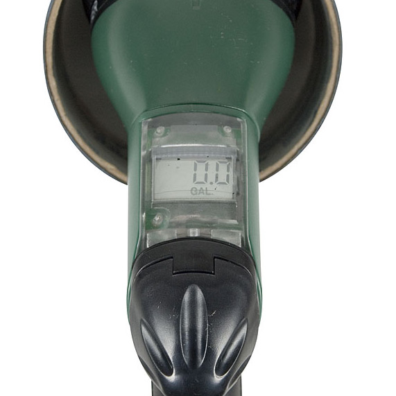 Save a drop hose nozzle meter view