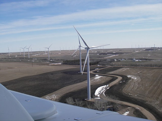 north dakota wind farm