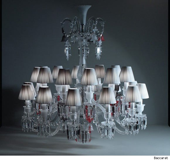 philippe starck designed chandelier