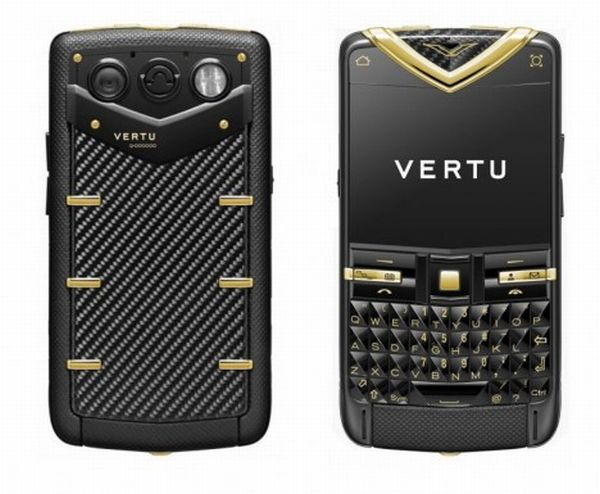 Телефон Vertu Constellation Quest Carbon Fibre